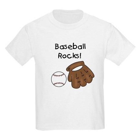 Baseball Rocks Kids T-Shirt