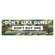 2nd Amendment Bumper Bumper Bumper Sticker