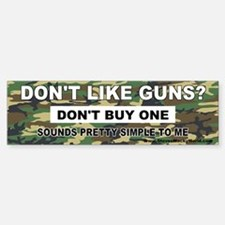 2nd Amendment Bumper Car Car Sticker
