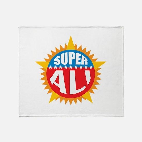Super Ali Throw Blanket