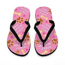 Kerry Wheaten Mom Gift Flip Flops