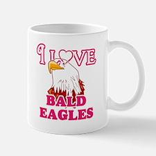 I Love Bald Eagles Mugs