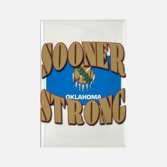 Sooner Strong Oklahoma Rectangle Magnet
