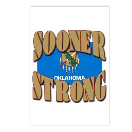 Sooner Strong Oklahoma Postcards (Package of 8)