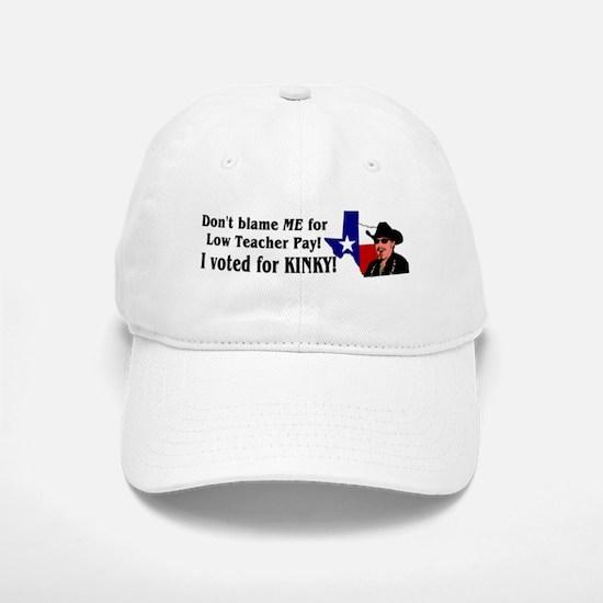 Don't blame ME! Kinky Baseball Baseball Cap