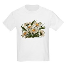 Daisies Victorian Vintage Che Kids T-Shirt