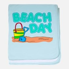 Beach Day baby blanket