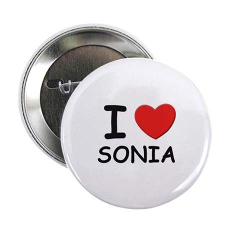 I love Sonia Button