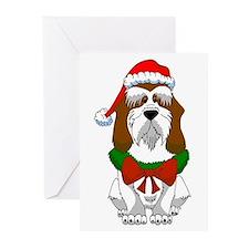 PBGV Christmas Greeting Cards (Pk of 10)