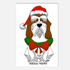 PBGV Christmas Postcards (Package of 8)