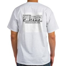 Boys are Stupid comic! Ash Grey T-Shirt
