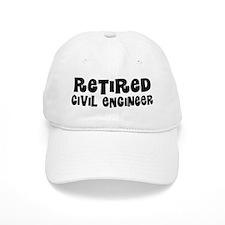 Retired Civil Engineer Gift Baseball Baseball Cap
