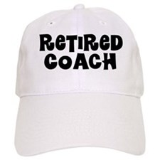 Retired Coach Retired Gift Baseball Baseball Cap