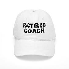 Retired Coach Retired Gift Baseball Cap