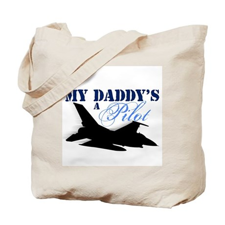 My Daddy's a Pilot Tote Bag