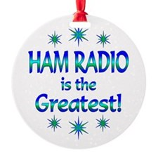 Ham Radio is the Greatest Ornament