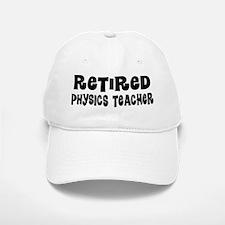 Retired Physics Teacher Gift Baseball Baseball Baseball Cap