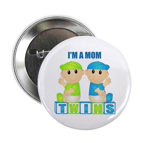 I'm A Mom (PBB:blk) Button