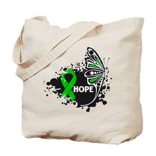 Cerebral Palsy Butterfly Tote Bag