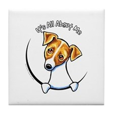 Jack IAAM Off-Leash Art™ Tile Coaster