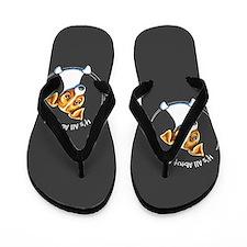 Jack Russell IAAM Off-Leash Art™ Flip Flops