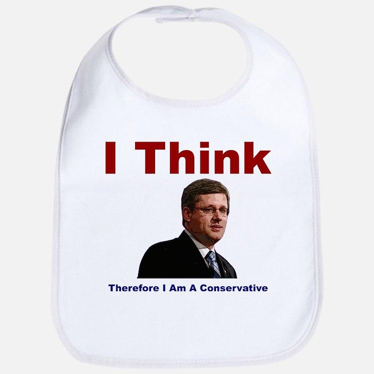 I Think Conservative Bib