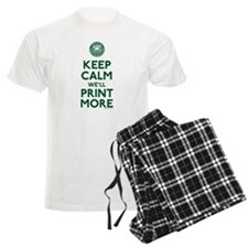 Keep Calm Fed Parody Pajamas