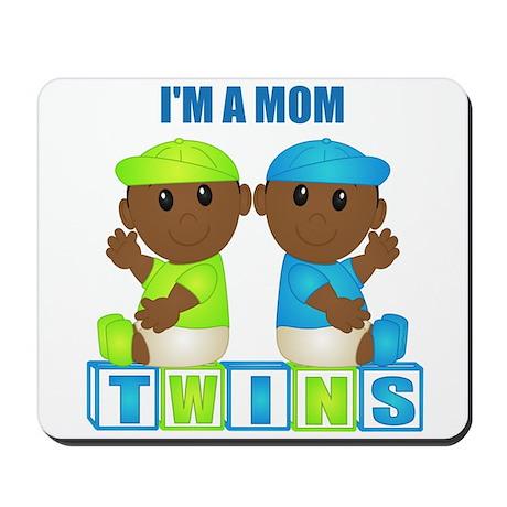 I'm A Mom (DBB:blk) Mousepad