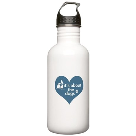 National Mill Dog Rescue Stainless Water Bottle 1.