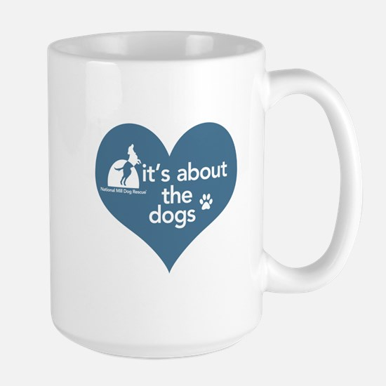 National Mill Dog Rescue Large Mug