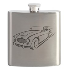 British Classic Muscle B Flask