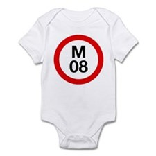 M08 Infant Bodysuit (pink, baby blue, white)