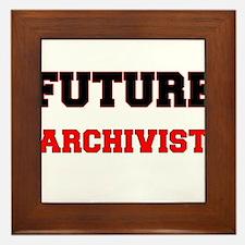 Future Archivist Framed Tile
