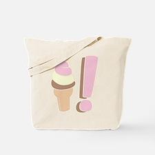 I Love Icecream Tote Bag