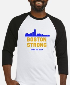 Boston Strong Blue And Gold Skylin Baseball Jersey