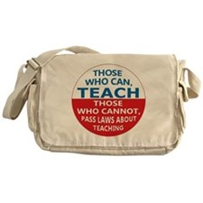 Those Who Can Teach Messenger Bag