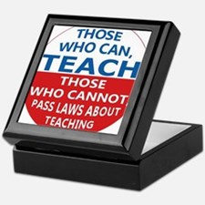 Those Who Can Teach Keepsake Box