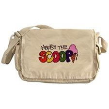 Here's the Scoop Messenger Bag