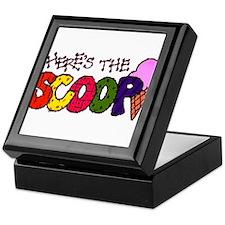 Here's the Scoop Keepsake Box