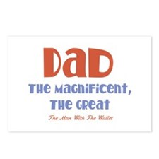 Dad, The Magnificent Postcards (Package of 8)