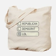 Partisan Multiple Choice Tote Bag