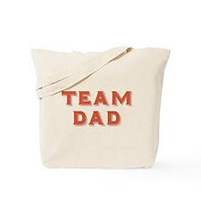 Team Dad Tote Bag