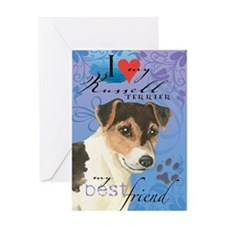 Russell Terrier Greeting Card