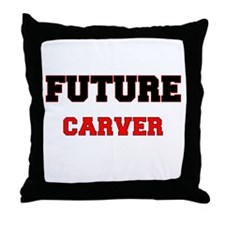 Future Carver Throw Pillow
