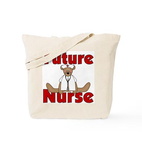 Future Nurse (Bear) Tote Bag