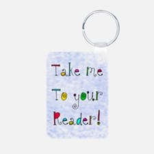 take me to your reader jewelry Keychains