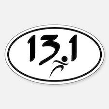 13.1 half-marathon Bumper Stickers
