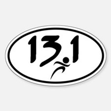 13.1 half-marathon Decal