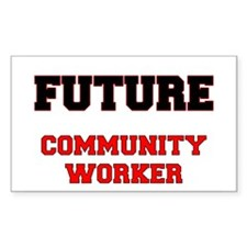 Future Community Worker Decal