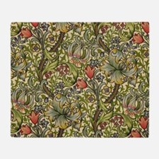 Morris Golden Lily Minor Design Throw Blanket